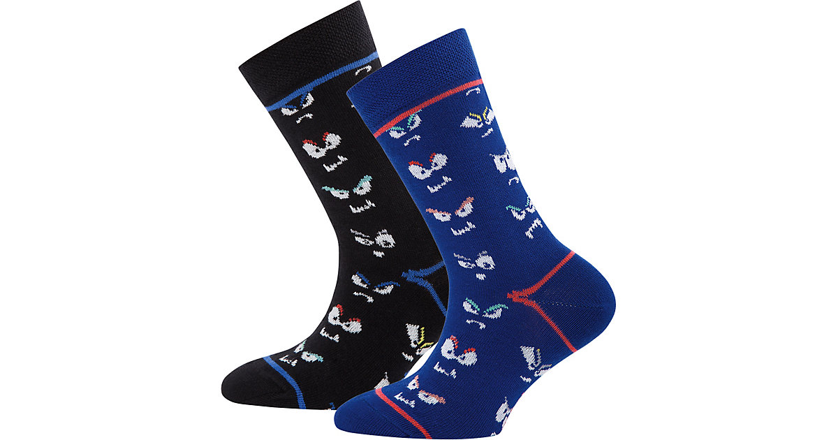 Socken Doppelpack , Monster Gr. 31-34 Jungen Ki...