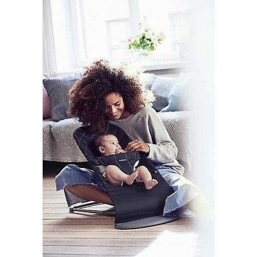 Кресло-шезлонг BabyBjorn Bliss Cotton черный от BabyBjorn