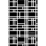Орнамент. Черно-белый, клетка