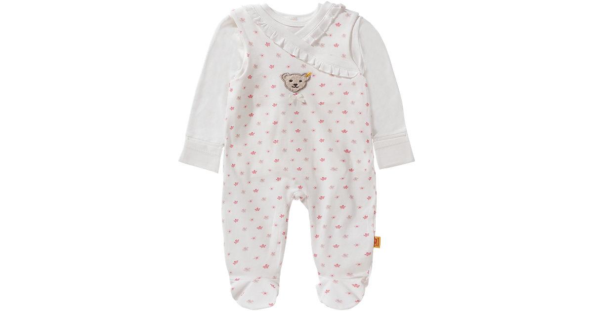 Steiff · Set Baby Langarmshirt und Strampler Gr. 74 Mädchen Baby