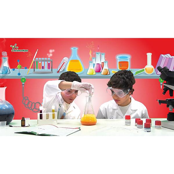 Science4you Набор опытов «Моя лаборатория: химические опыты»