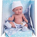 """Кукла-пупс Vestida de Azul """"Soft Touch"""" Томми в памперсах, 30 см"""