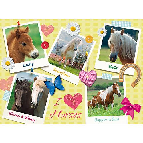 Пазл «Мои любимые лошади» XXL 300 шт от Ravensburger