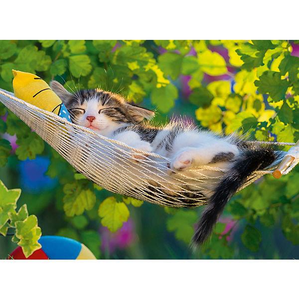 Пазл «Кошка в гамаке» XXL 300 шт