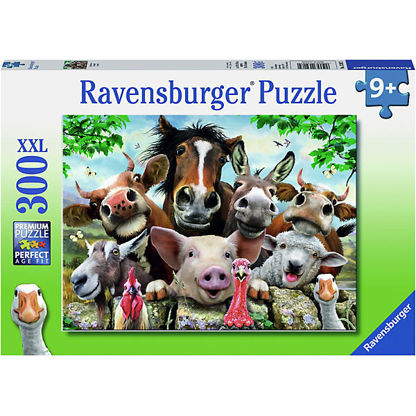 Puzzle, 300 Teile XXL, 49x36 cm, Say cheese!