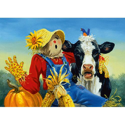 Пазл «Обитатели фермы» XXL 300 шт от Ravensburger