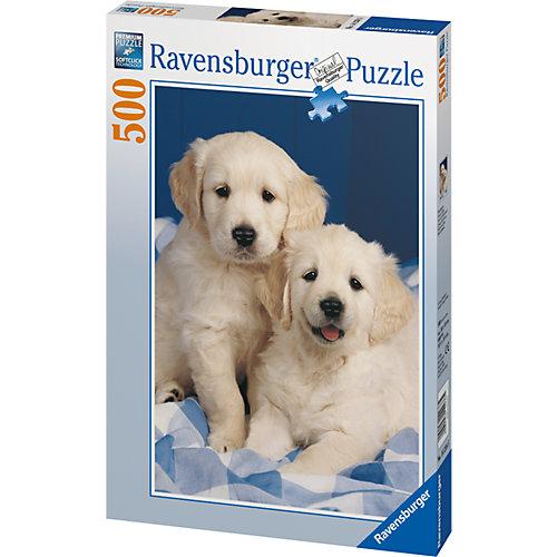 Пазл «Белые щенки» 500 шт от Ravensburger