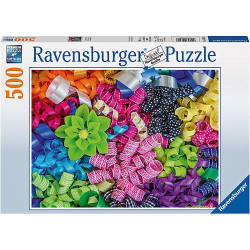 Пазл «Цветные ленты»  500шт от Ravensburger