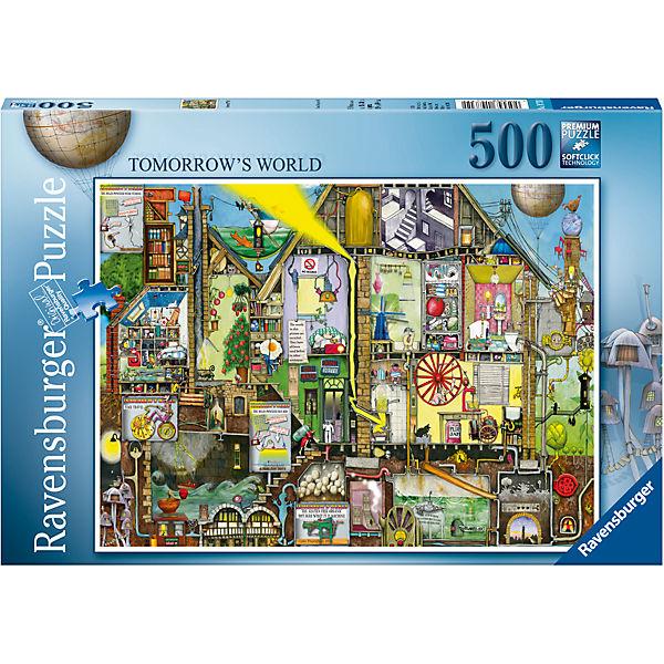Пазл «Мир будущего» 500 шт