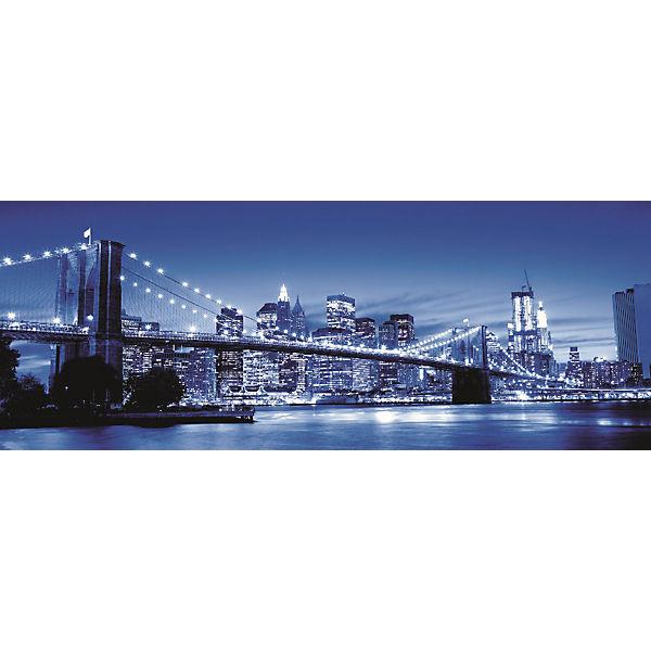 Пазл панорамный «Ночь в Нью-Йорке» 1000 шт