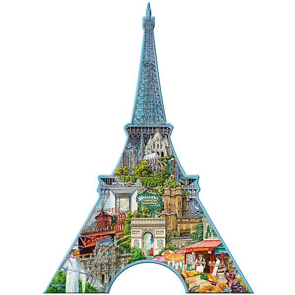 Контурный пазл «Эйфелева башня» 960 шт
