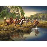 Пазл «Дикие лошади» 1500 шт