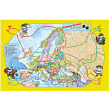 "Карта-игра "" Европа Кругосветка"""