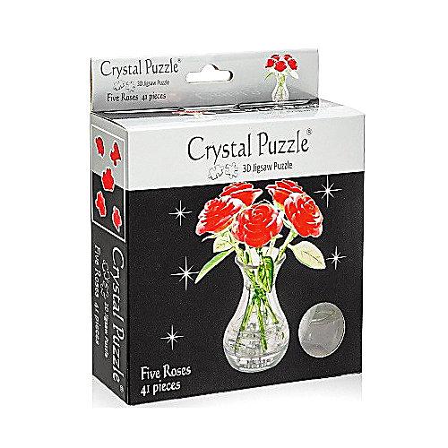 3D головоломка Букет в вазе от Crystal Puzzle
