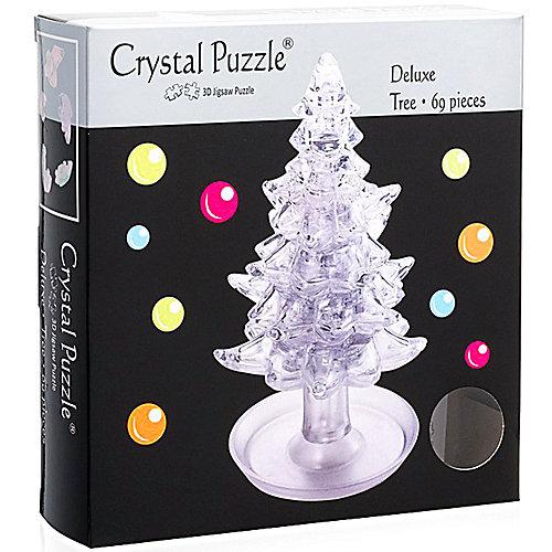 3D головоломка Елочка Белая от Crystal Puzzle