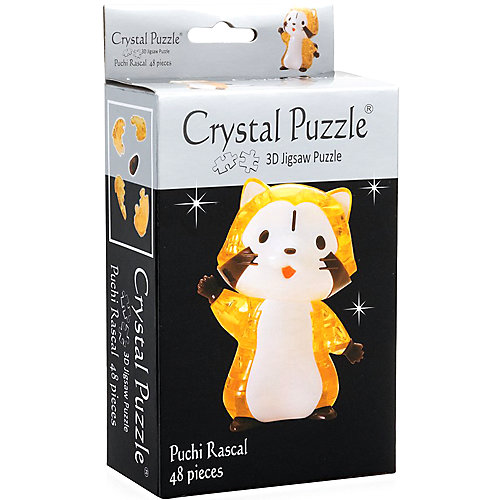 3D головоломка Енот от Crystal Puzzle