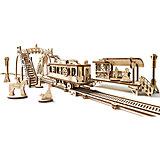 Конструктор 3D-пазл Ugears - Трамвайная линия