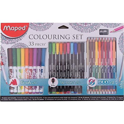 Набор для рисования Maped 33 предмета от Maped