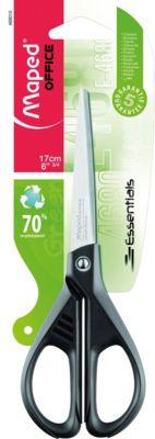 Ножницы ESSENTIALS GREEN 17 см, симметричные, Maped
