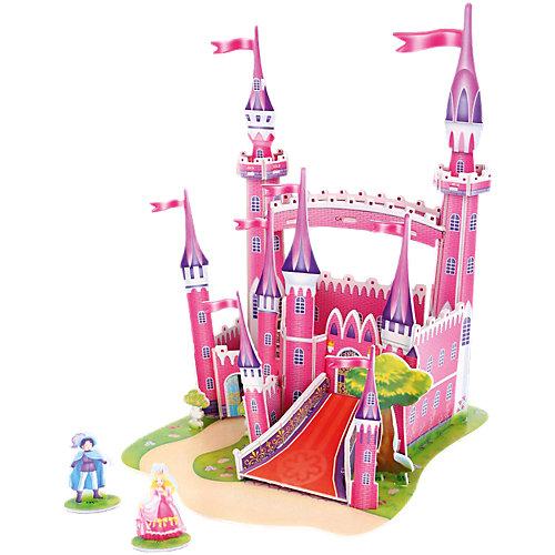 "3D пазл Funny ""Розовый замок"", 29 элементов от Funny"