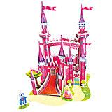 "3D пазл Zilipoo ""Розовый замок"", 29 элементов"