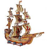 """3D пазл Funny """"Пиратский корабль"""", 79 элементов"""