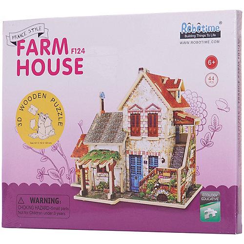 """Сборная модель Robotime """"Французский фермерский домик"""" от Robotime"""