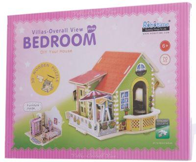 """Сборная модель Robotime """"Дом со спальней"""""""