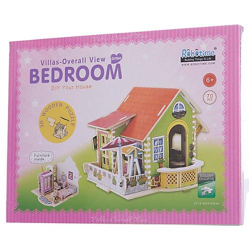 """Сборная модель Robotime """"Дом со спальней"""" от Robotime"""