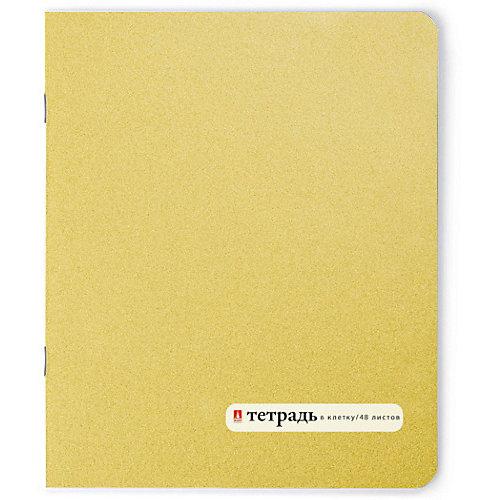 Тетрадь Золотая 48 листов, клетка от Альт