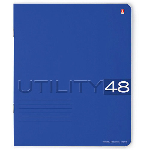 Тетрадь Unility 48 листов, клетка, 5 шт., рисунок в ассортименте от Альт