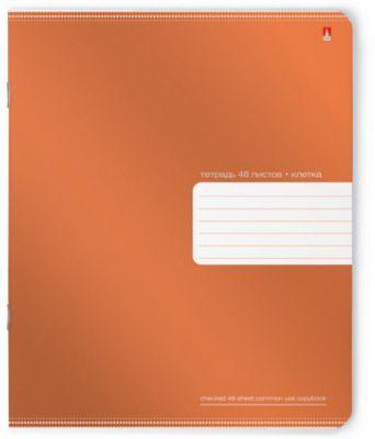 Тетрадь Премиум Металлик 48 листов, клетка, 5 шт.,  рисунок в ассортименте