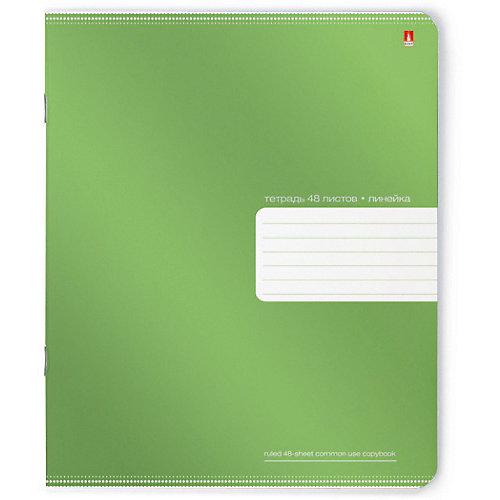 Тетрадь Премиум Металлик 48 листов, линейка, 5 шт., рисунок в ассортименте от Альт