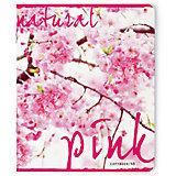 Тетрадь Цветущий сад 48 листов, клетка, 5 шт. рисунок в ассортименте