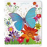 Тетрадь Праздник. Бабочки, 48 листов, клетка, 5 шт., рисунок в ассортименте