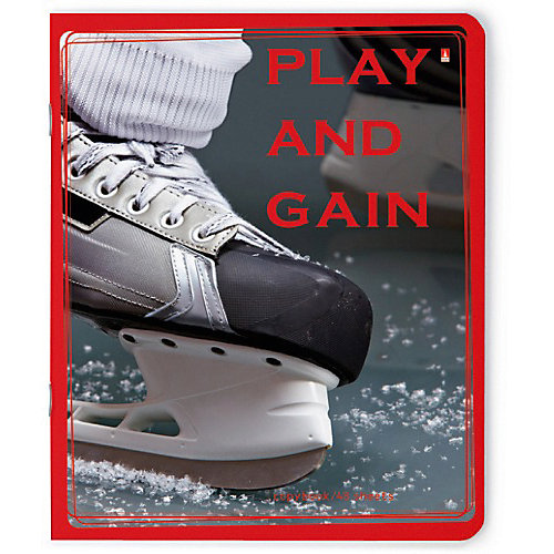 """Тетрадь """"Хоккей New""""   48 листов, клетка, 5 шт., рисунок в ассортименте от Альт"""