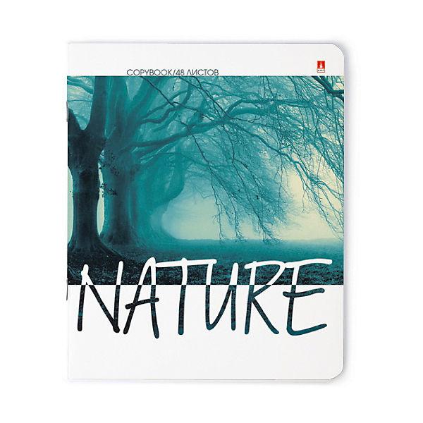 """Тетрадь """"Природа. Настроение"""" 48 листов, клетка, 10 шт., рисунок в ассортименте"""