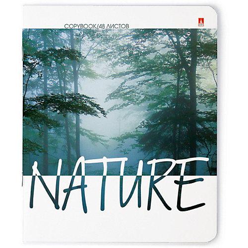 """Тетрадь """"Природа. Настроение"""" 48 листов, клетка, 10 шт., рисунок в ассортименте от Альт"""