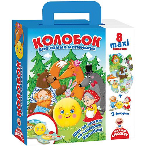 """Пазл-игра путешествие по сказке """"Колобок"""" от Vladi Toys"""