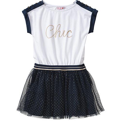 Kinder Jerseykleid mit Tüllrock Gr. 122 Mädchen Kinder | 08434484091711