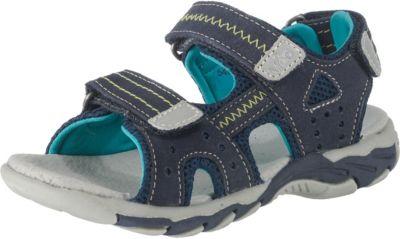 Kamik Kids Crab Blau-Grün, Kinder Sandale, Größe EU 21 - Farbe Green-Navy
