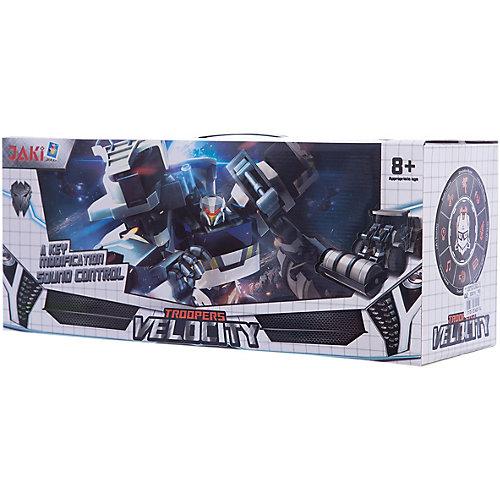 """Радиоуправляемый робот-трансформер 1Toy """"Трансботы"""" Экскаватор от 1Toy"""