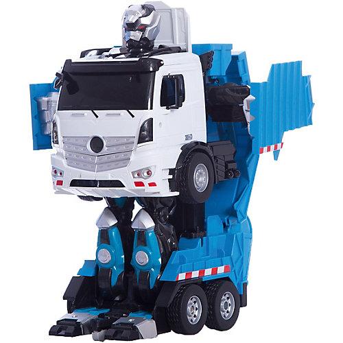 """Радиоуправляемый робот-трансформер 1Toy """"Трансботы"""" Мусоровоз от 1Toy"""