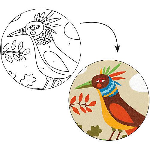 Песочные картинки Райские птицы, Djeco от DJECO