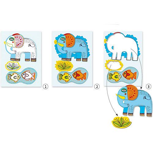 Набор для творчества  для малышей «Зоопарк», Djeco от DJECO