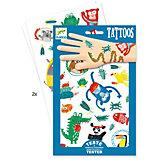 Татуировки Животные, Djeco