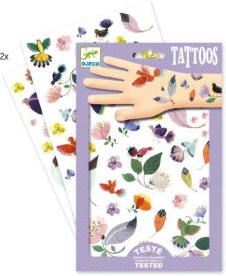 Татуировки Перышки, Djeco