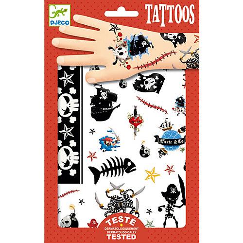 Татуировки Пираты, Djeco от DJECO
