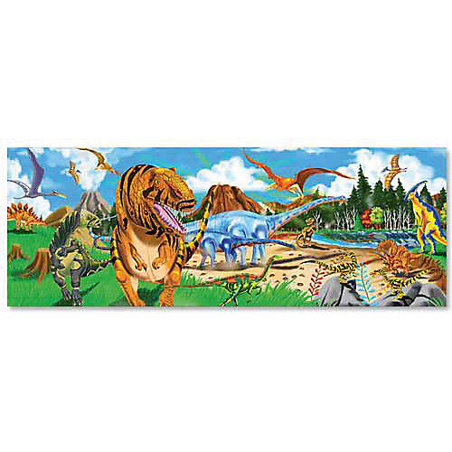 """Напольный пазл Melissa & Doug """"Динозавры"""" 48 деталей от Melissa & Doug"""