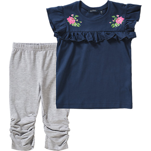 Blue Seven Set T-Shirt + Caprileggings Gr. 92 Mädchen Kleinkinder   04055852033962